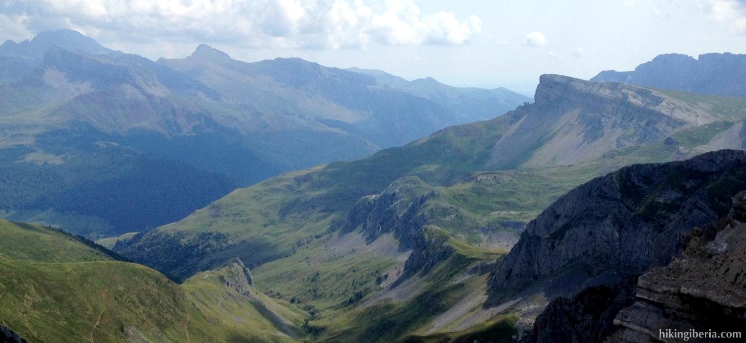Uitzicht vanaf de Pico Sobarcal