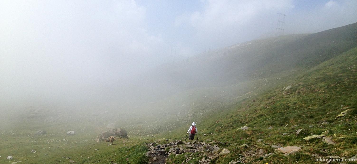 Abstieg vom Puerto de Bujaruelo