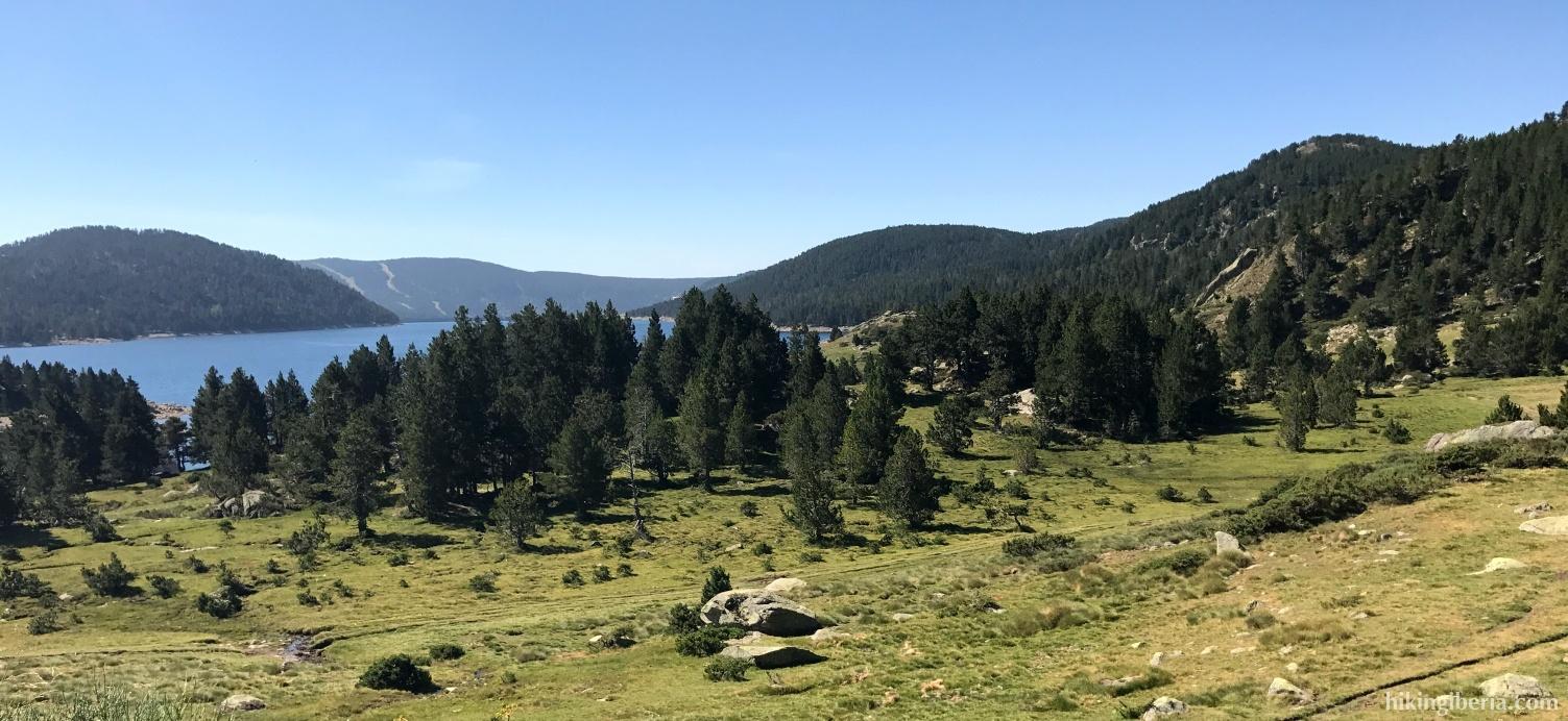 View on Lac Des Bouillouses