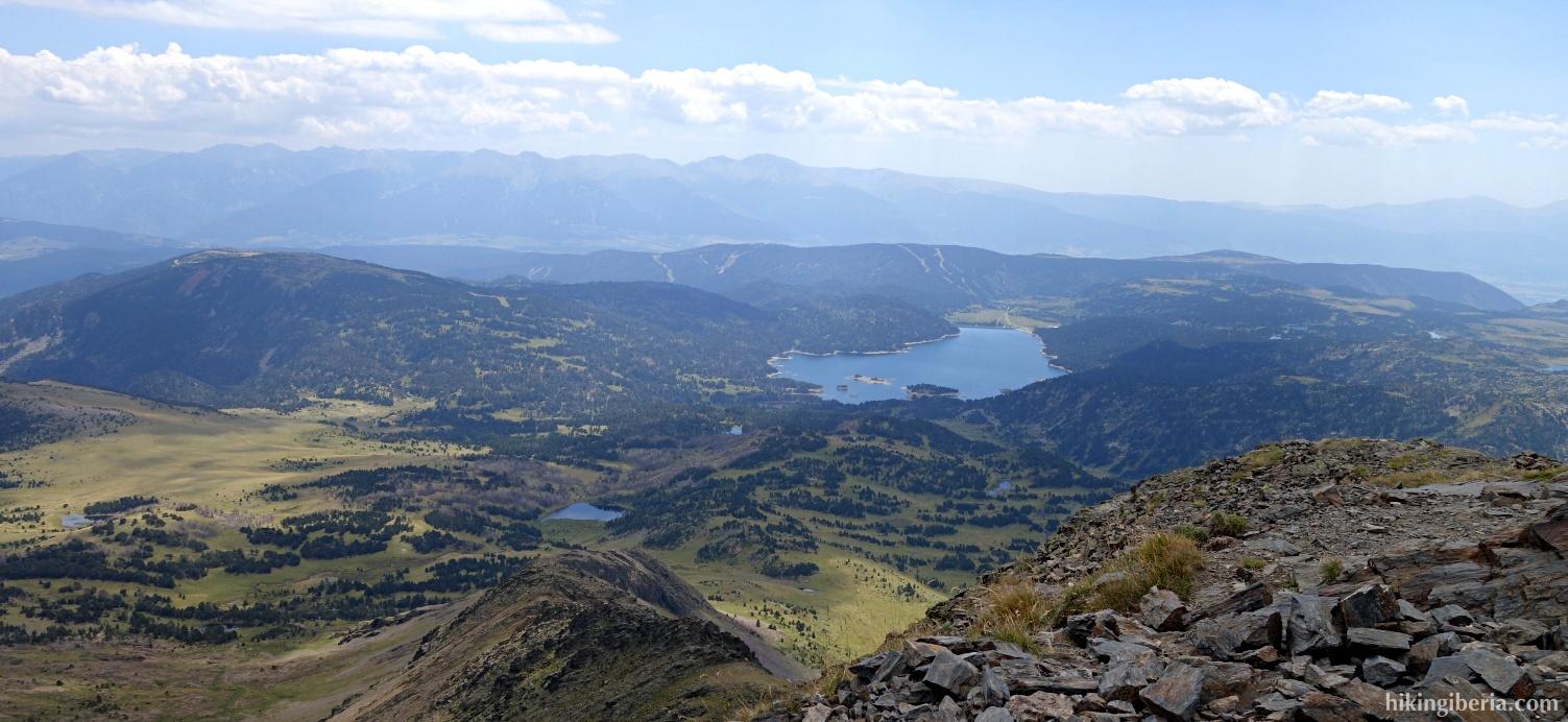 Uitzicht vanaf de Puig Peric