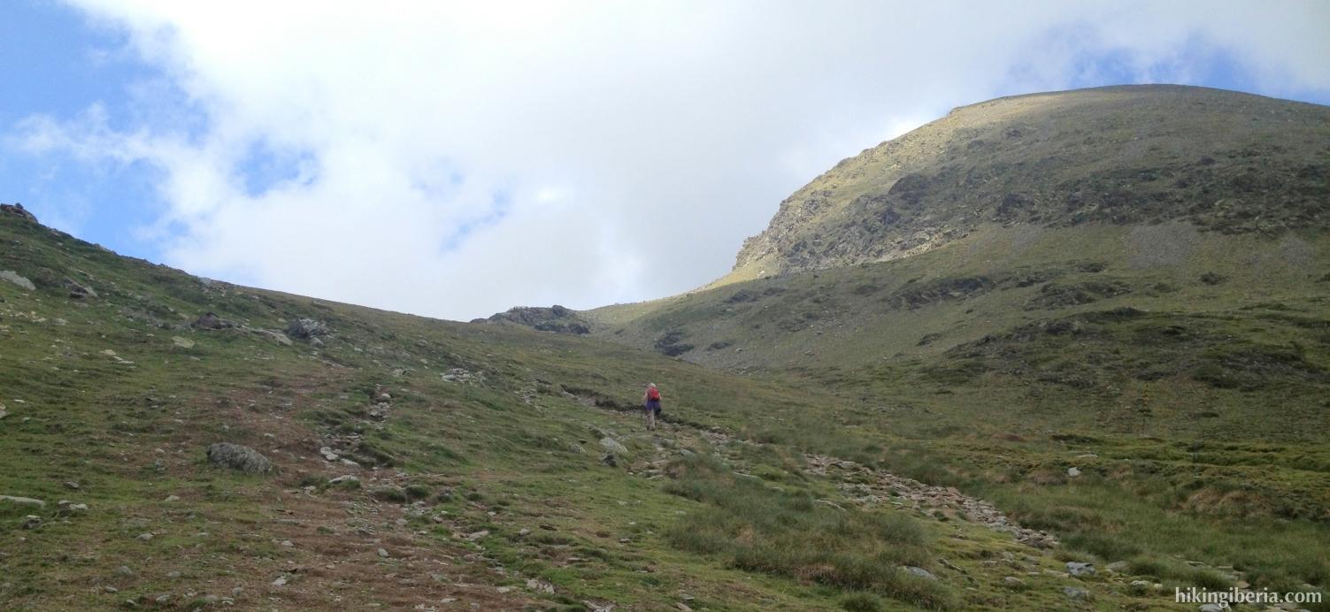 Ascent to the Coma de l´Embut