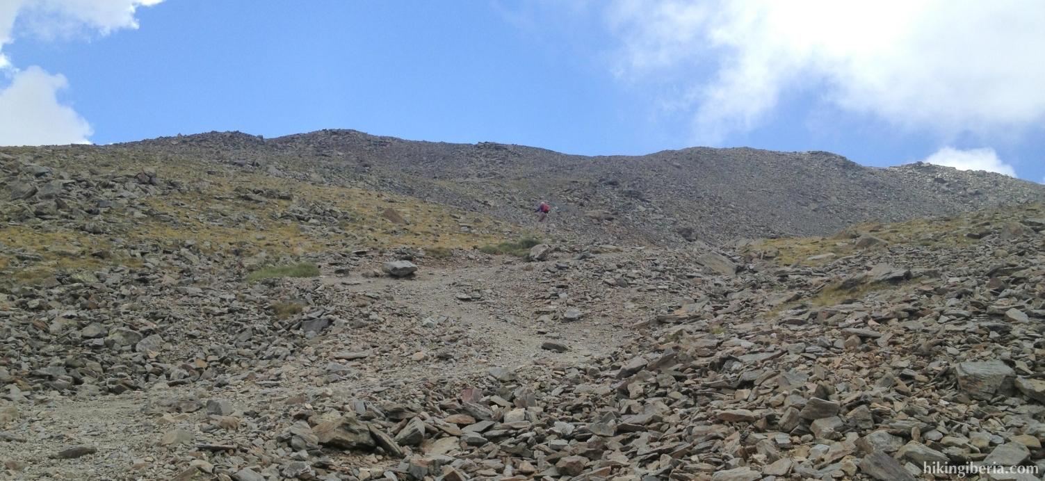 Klim naar de Puigmal