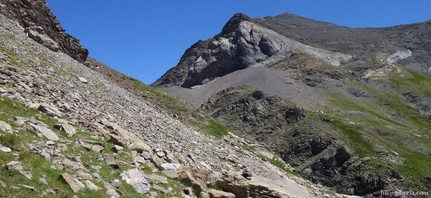 Klim naar de Pico Robiñera