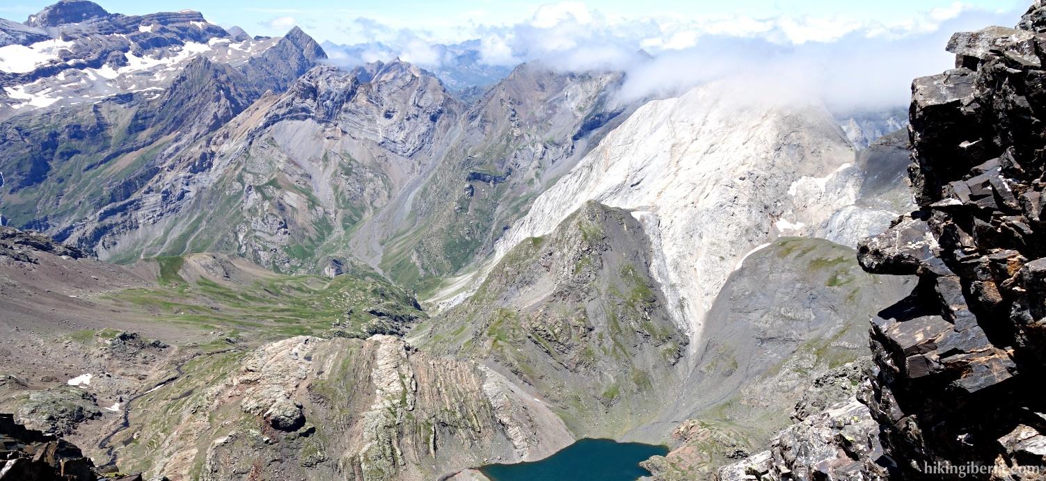 Aussicht auf dem Aufstieg zum Pico Robiñera
