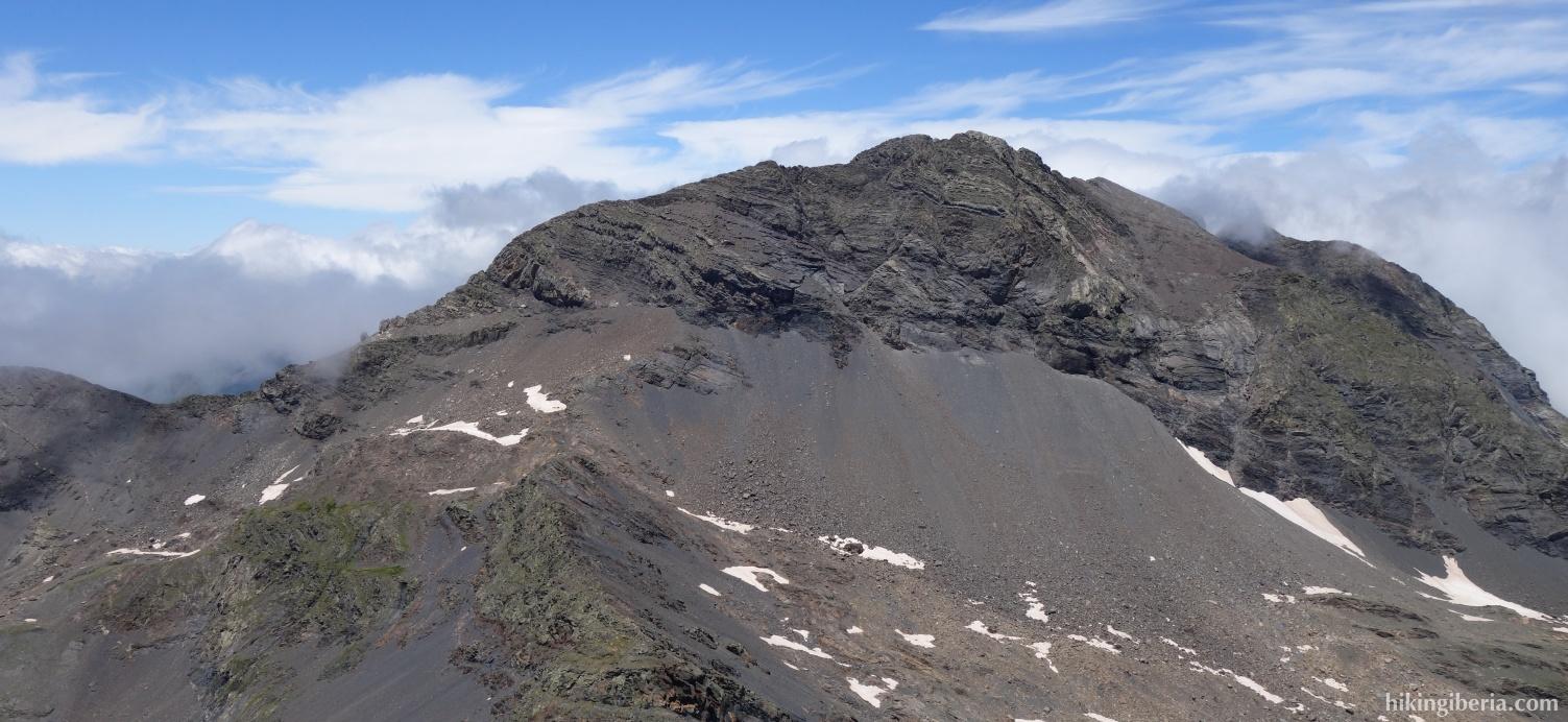Aussicht ab dem Pico Robiñera