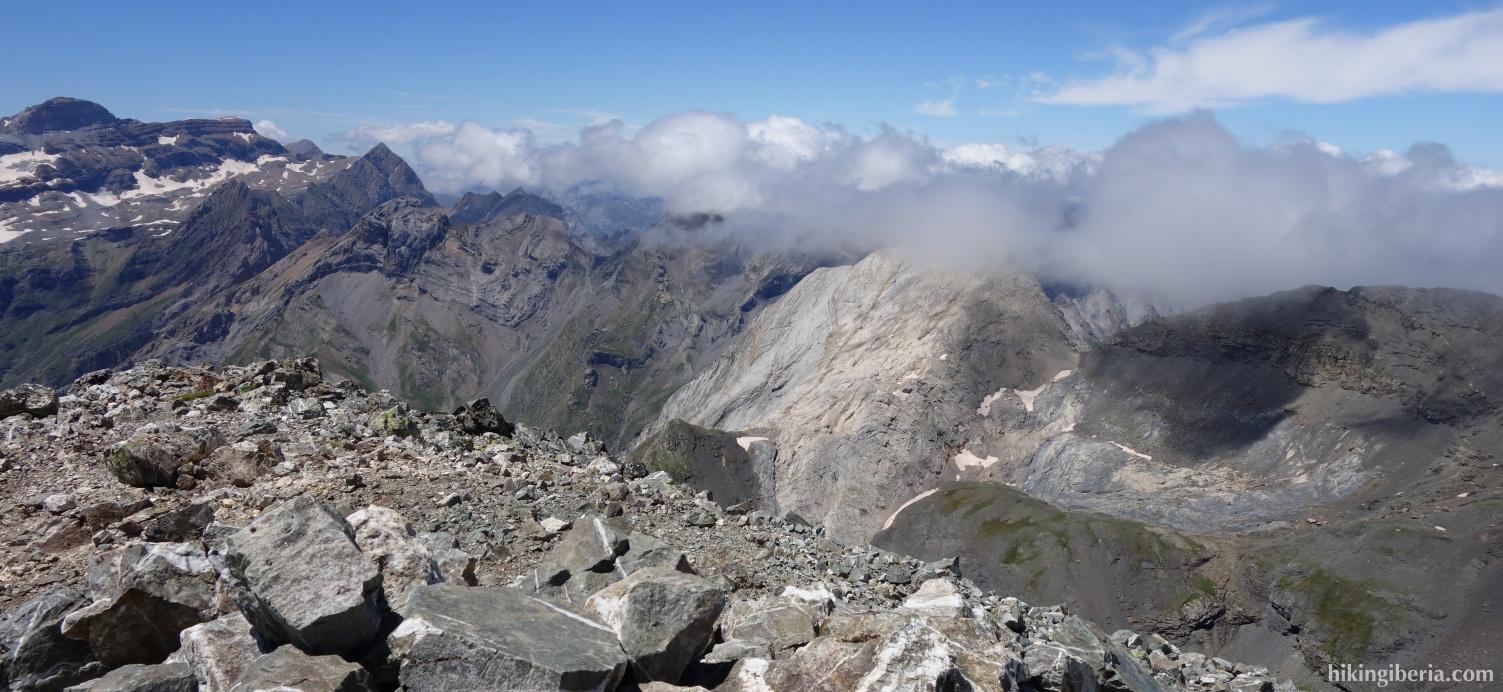 Uitzicht vanaf de Pico Robiñera