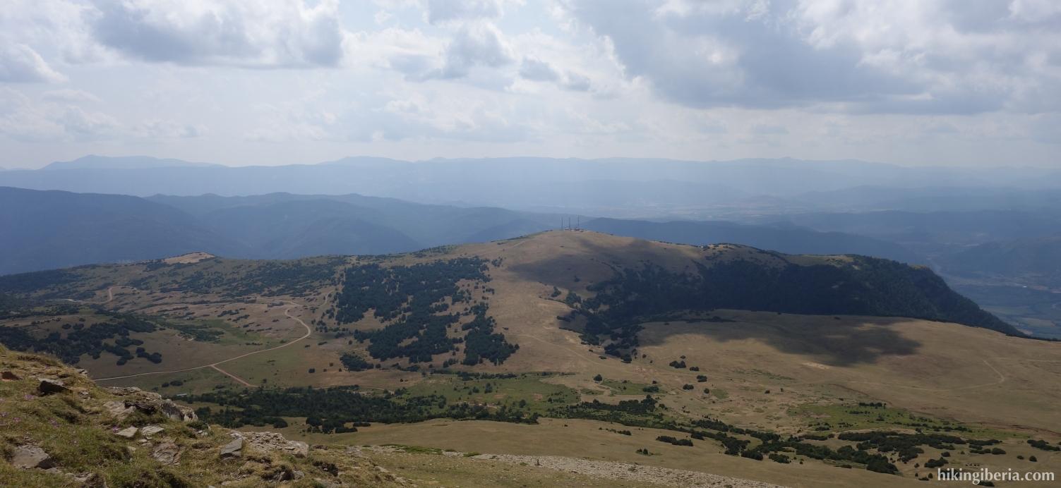 Uitzicht vanaf de Pico Oturia