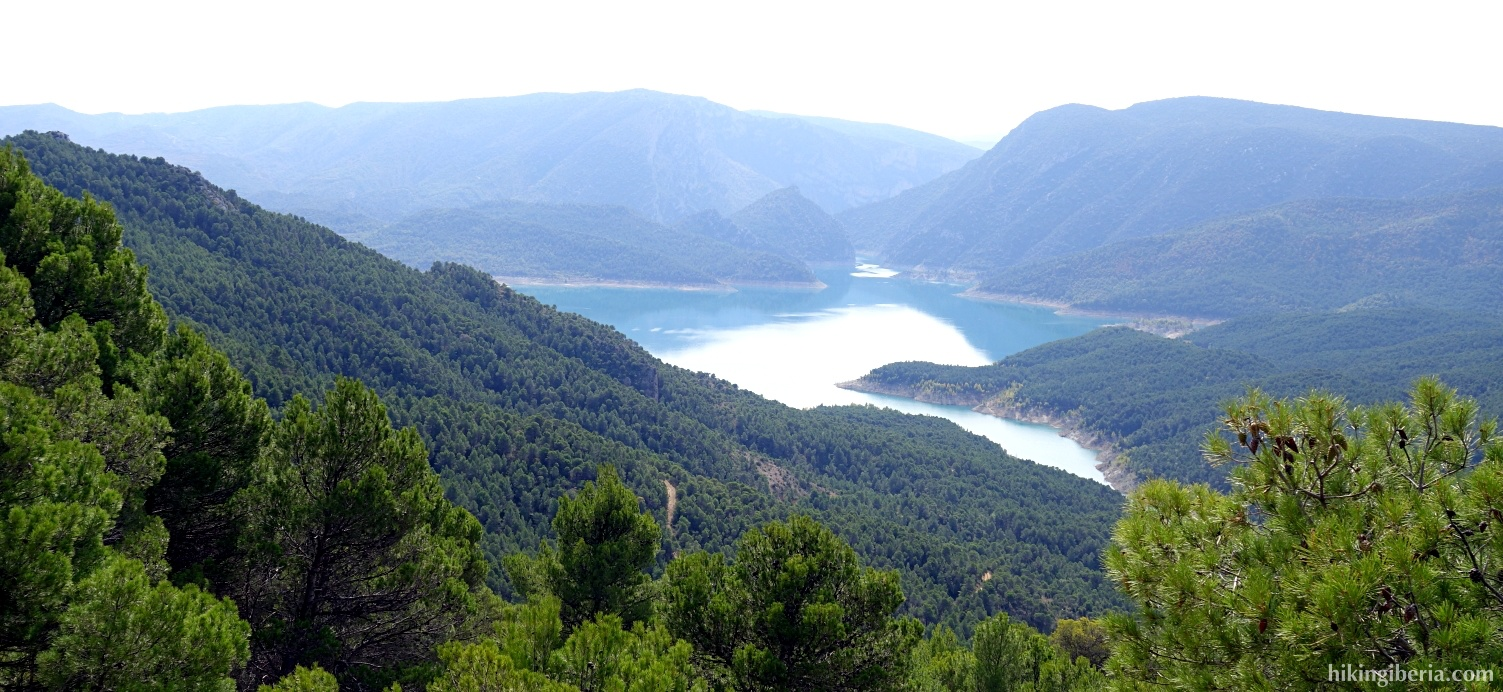 Reservoir of Los Canelles