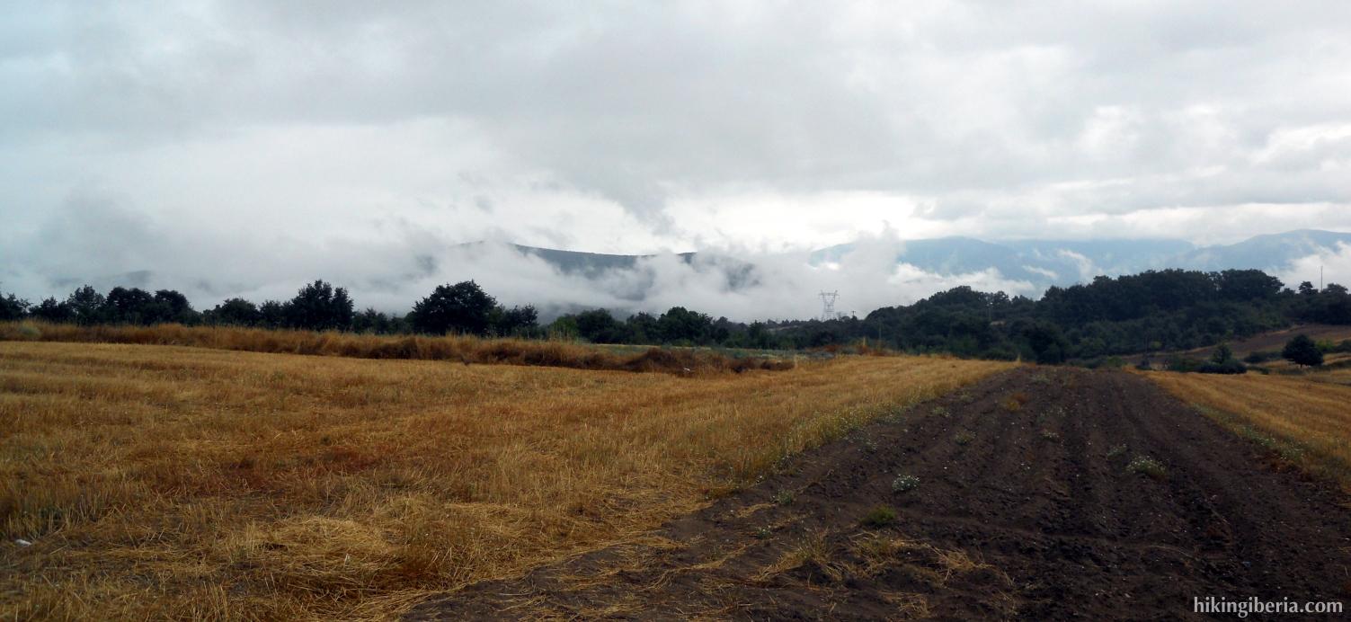 Campos abiertos alrededor de A Pobra de Trives