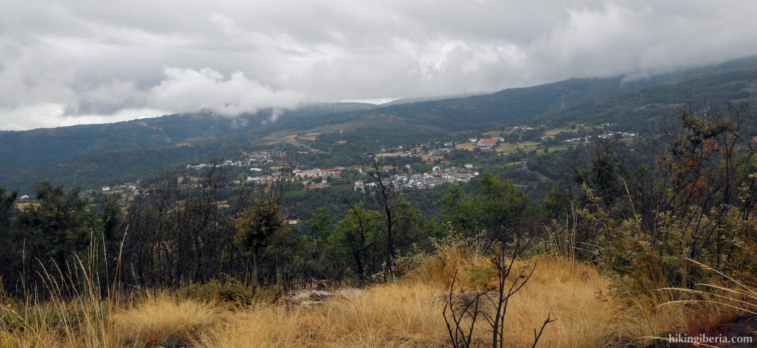 Uitzicht op Manzaneda