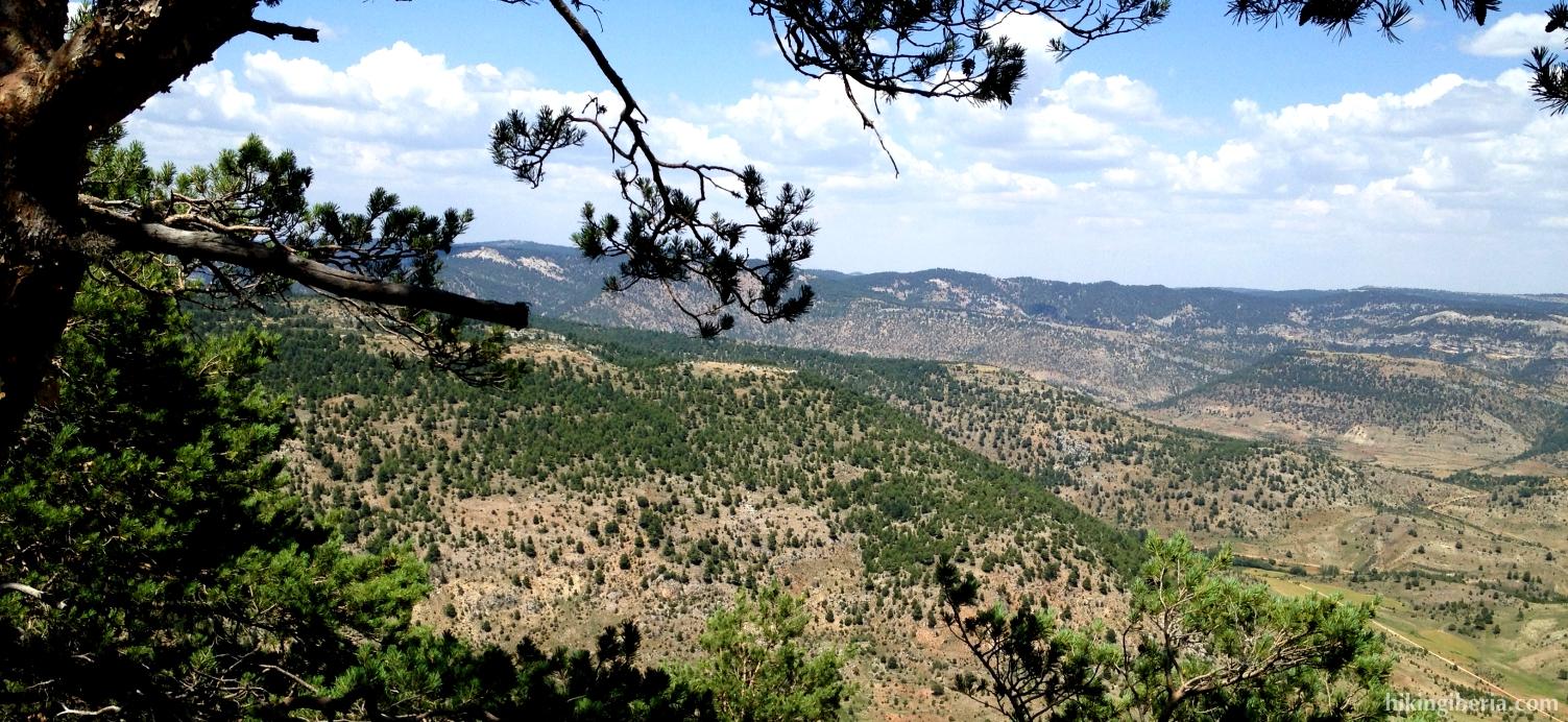 Uitzicht vanaf de Pico de las Nieves