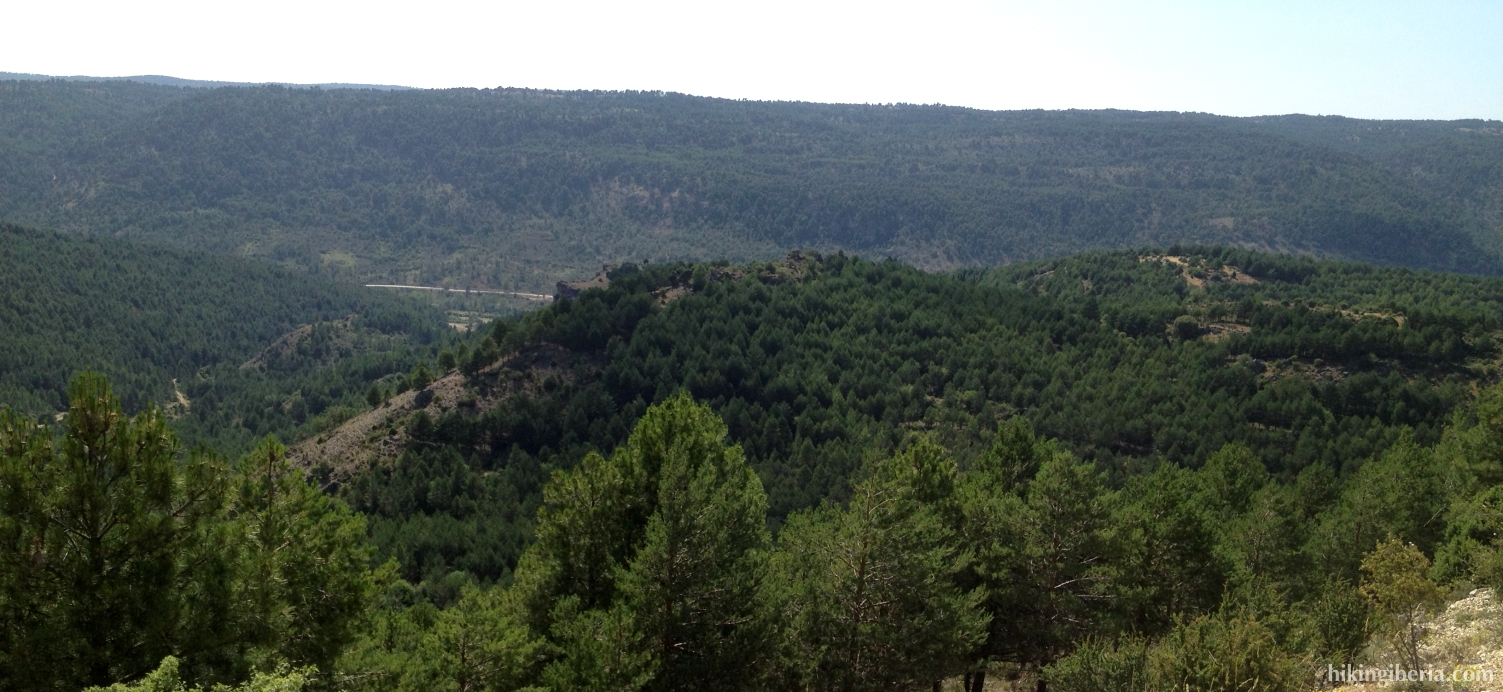 View over the Gorge of the Horcajo