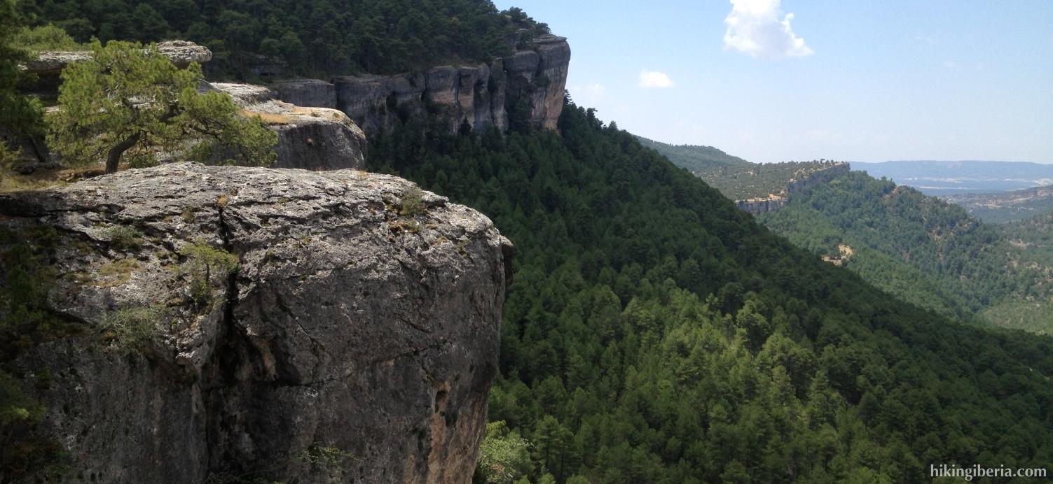 Uitzicht vanaf de Camino de Fuente la Zarza