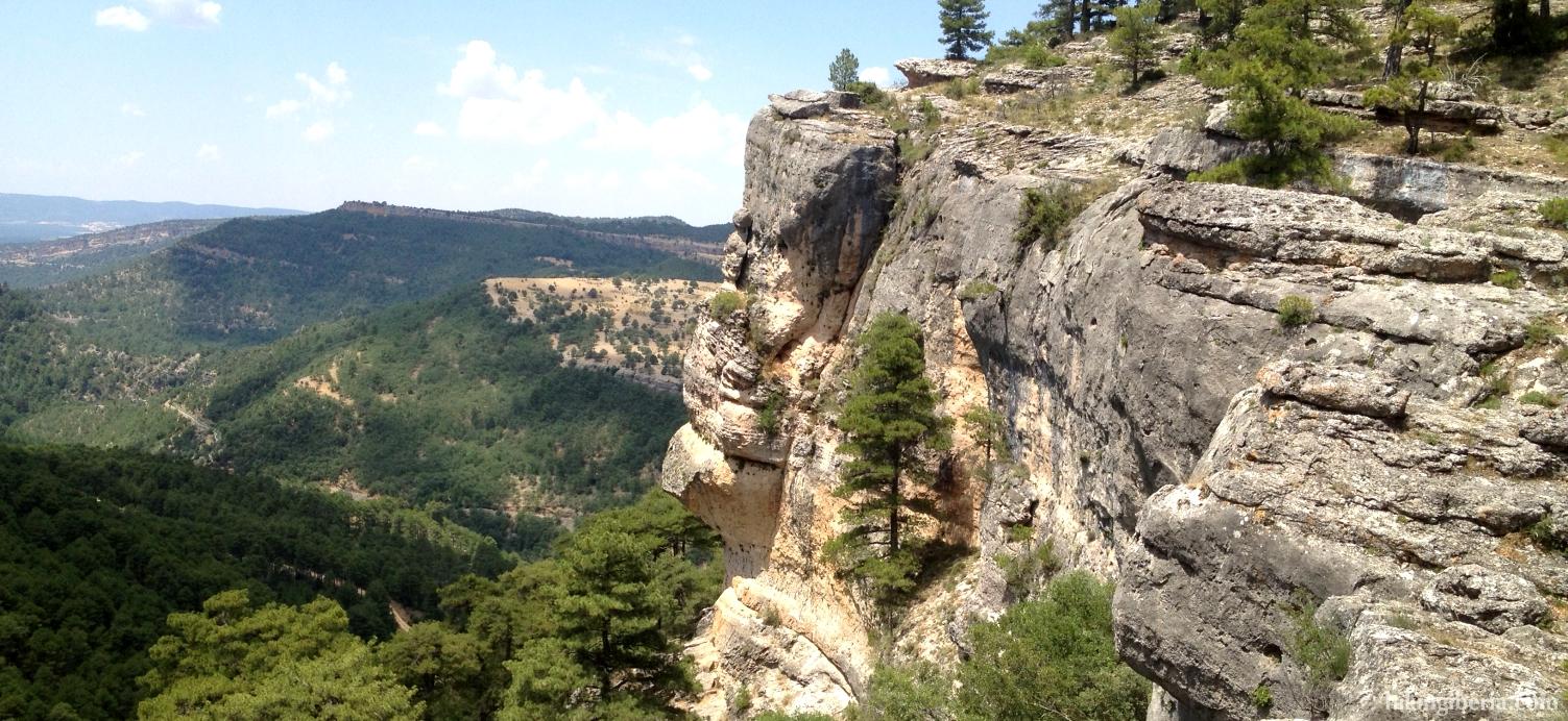 View from the Camino de Fuente la Zarza