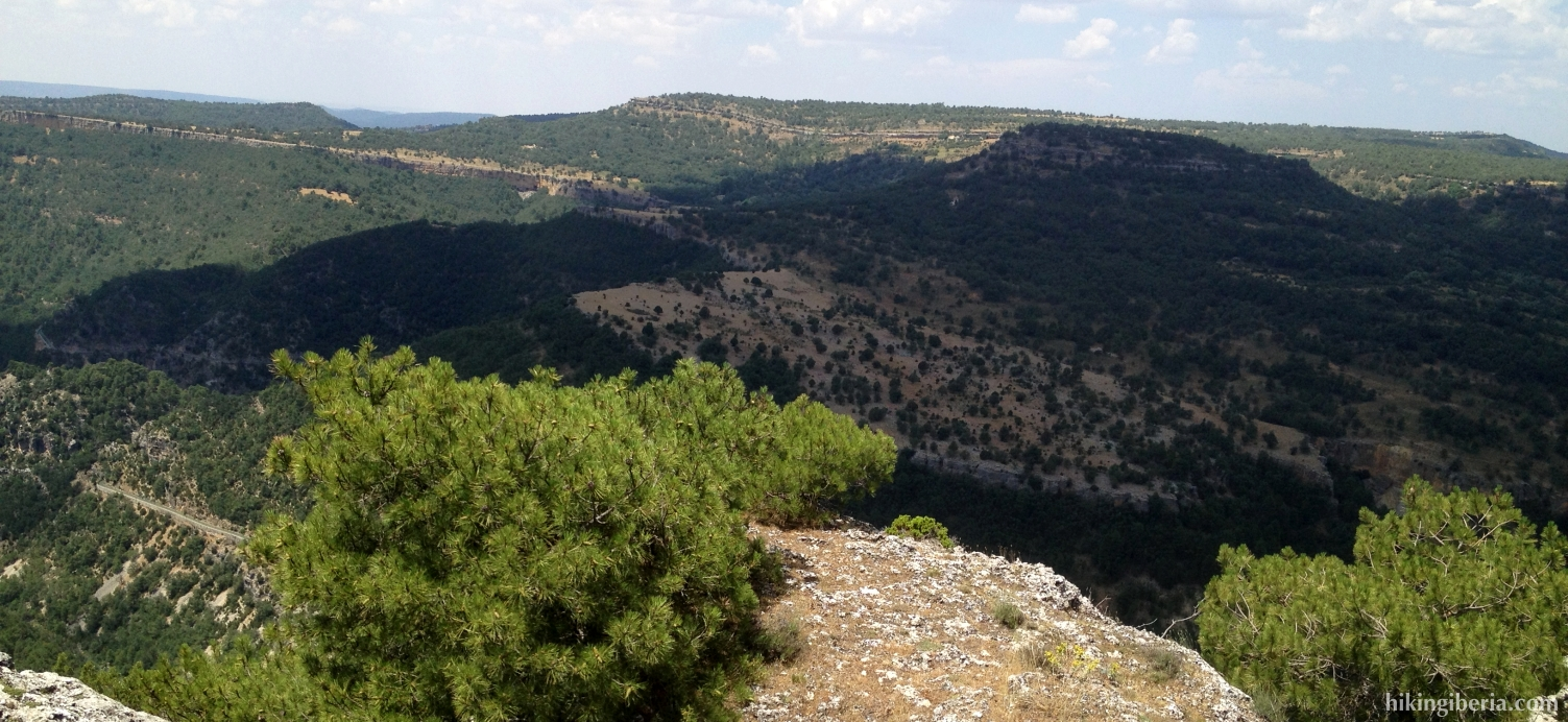 View from the Picón de Royo Frío