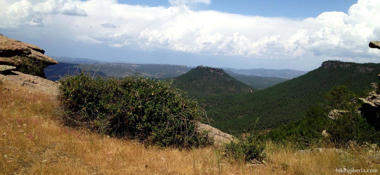 View from the Pico de la Zorra