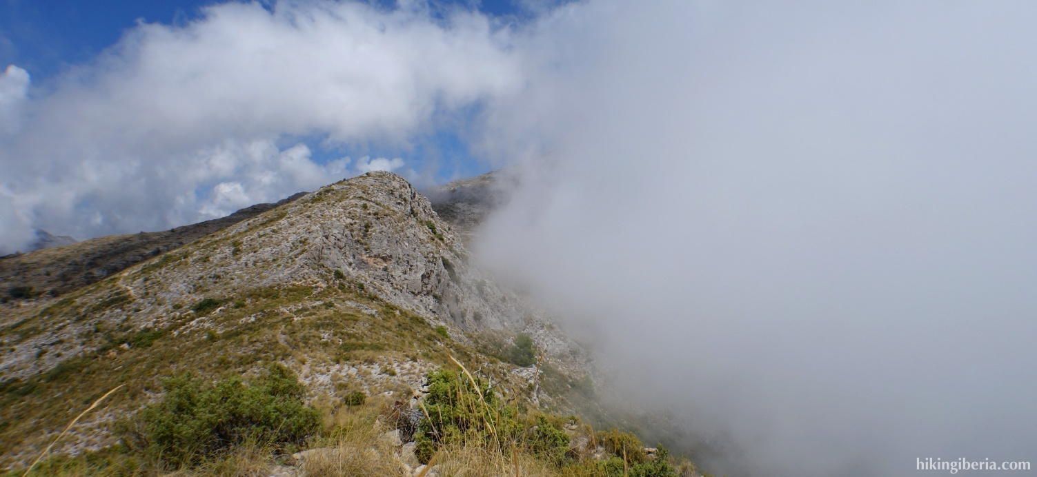 View from the Cuesta del Cielo