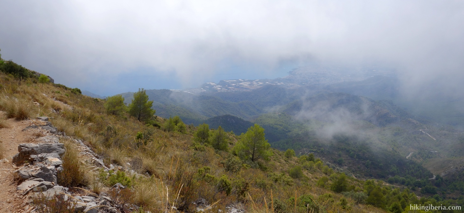 Aussicht auf die Sierra de Almijara