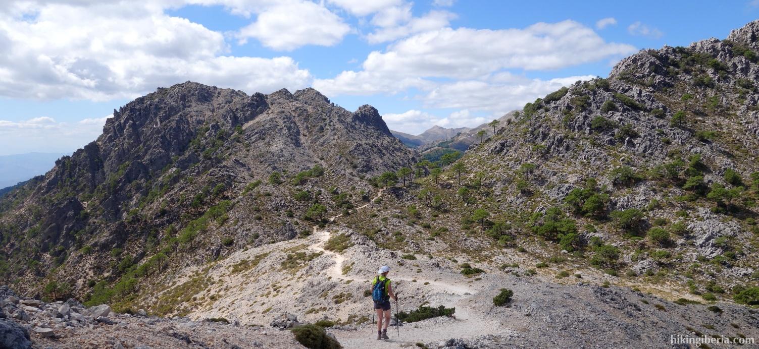 Descent from El Lucero