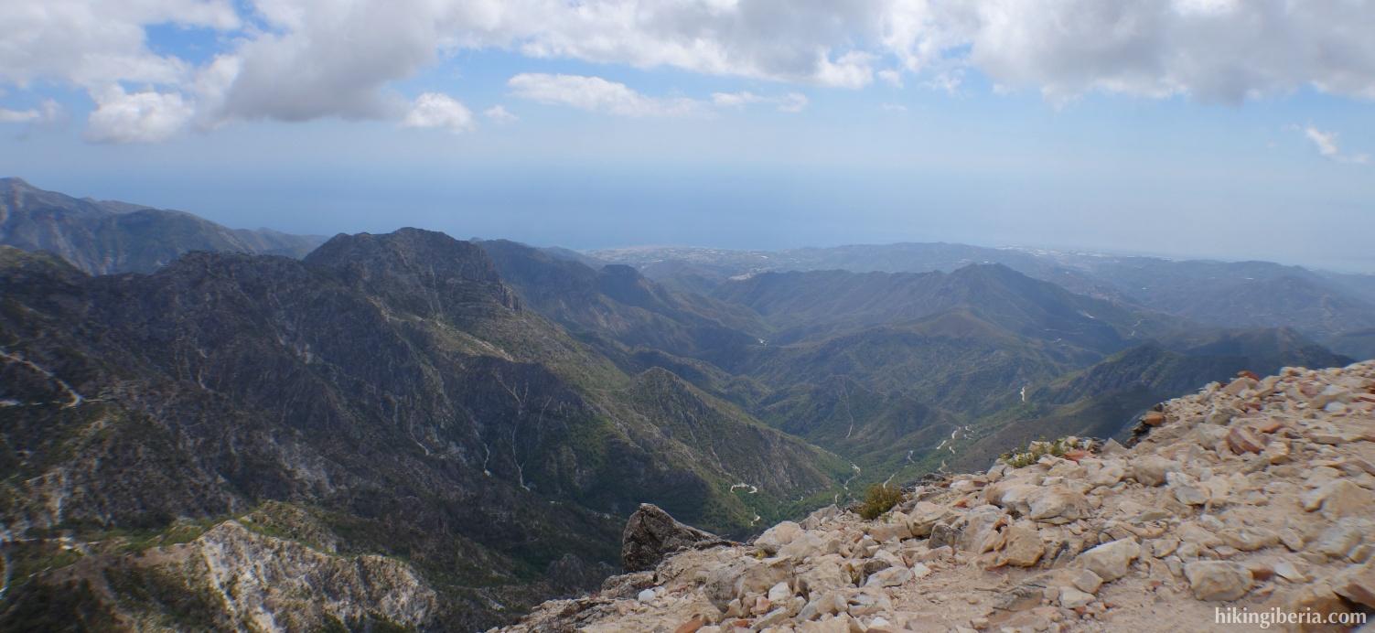 Uitzicht vanaf El Lucero