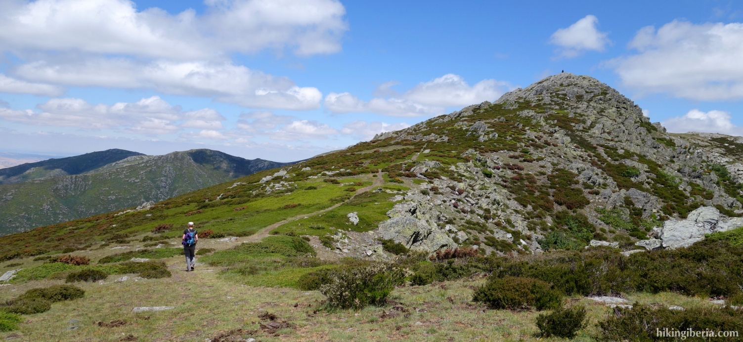 Aufstieg zum Alto del Parrejón