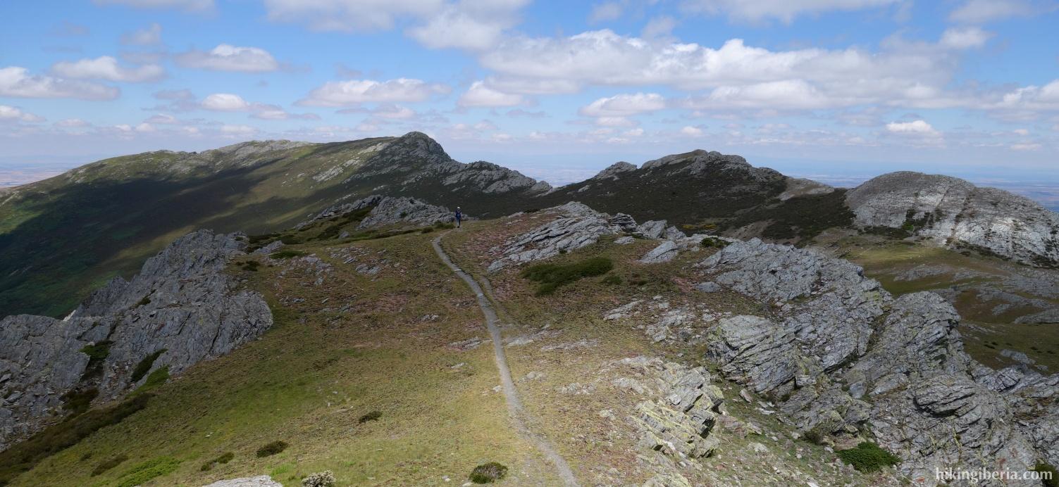 Uitzicht vanaf de Alto del Parrejón