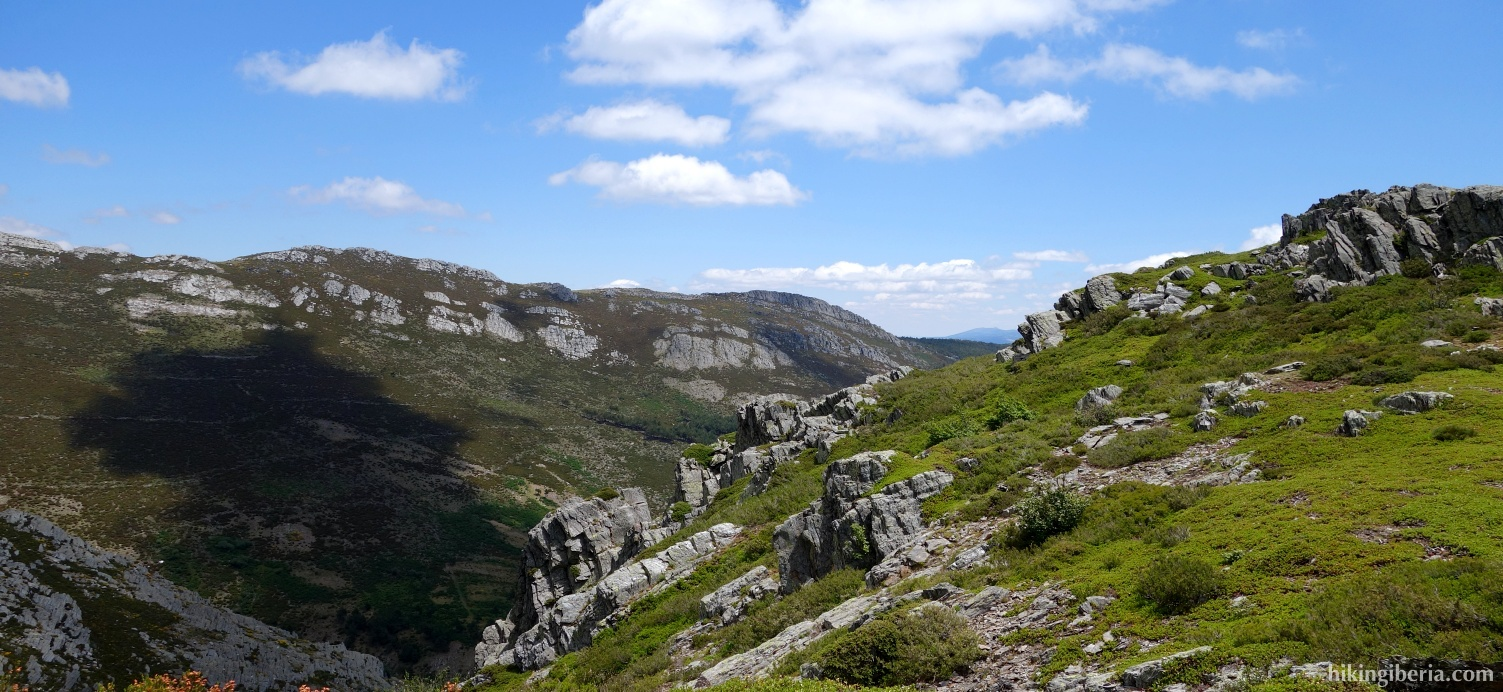 View from the Cuerda de las Berceras