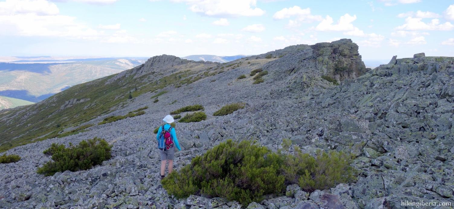 Camino hacia Piquerinas