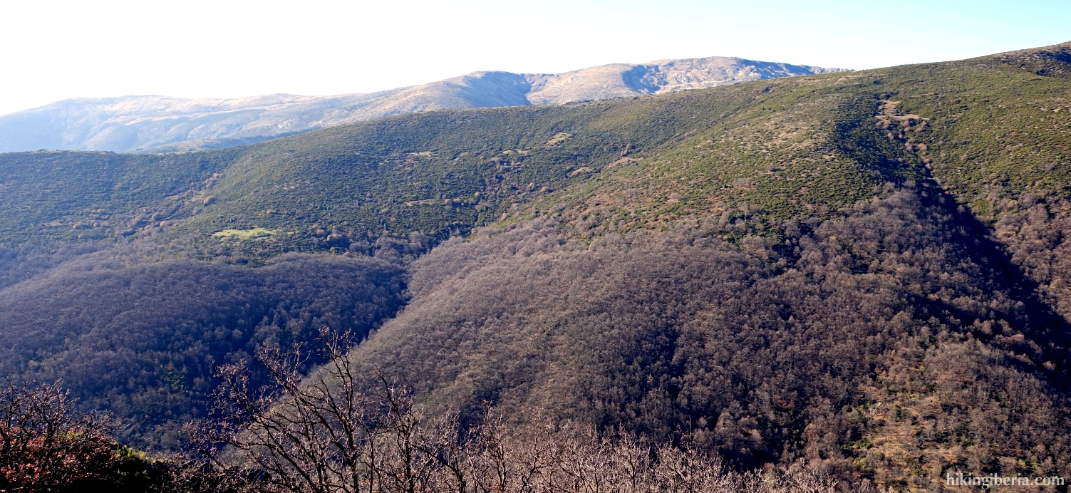 Uitzicht vanaf de Loma de Agua Fría