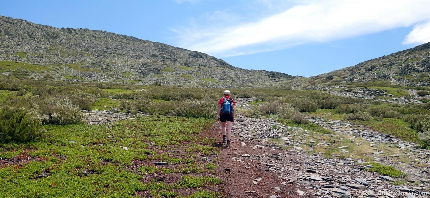 Aufstieg zum Ocejón
