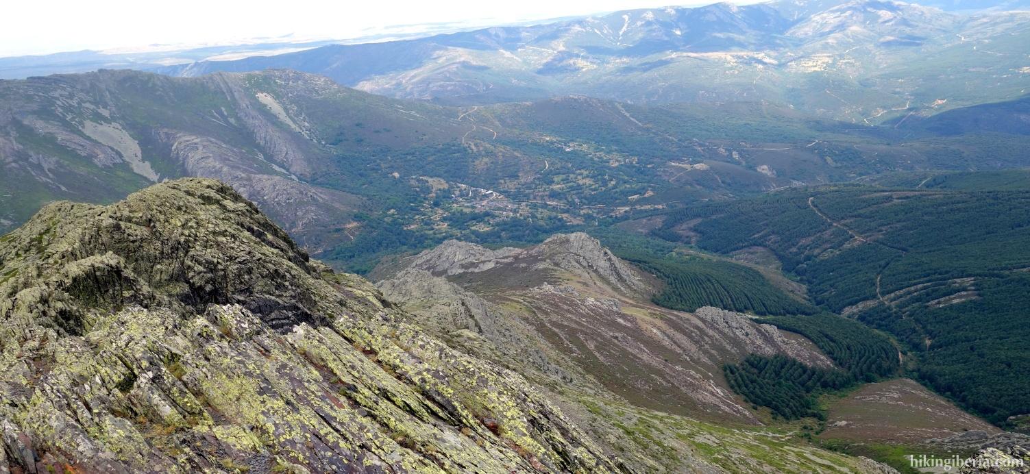 Uitzicht vanaf de Ocejón