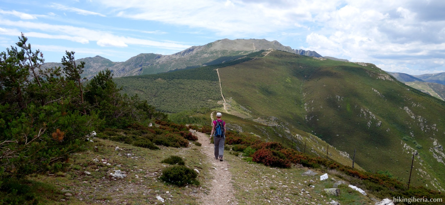 Trail to the Collado de San Benito