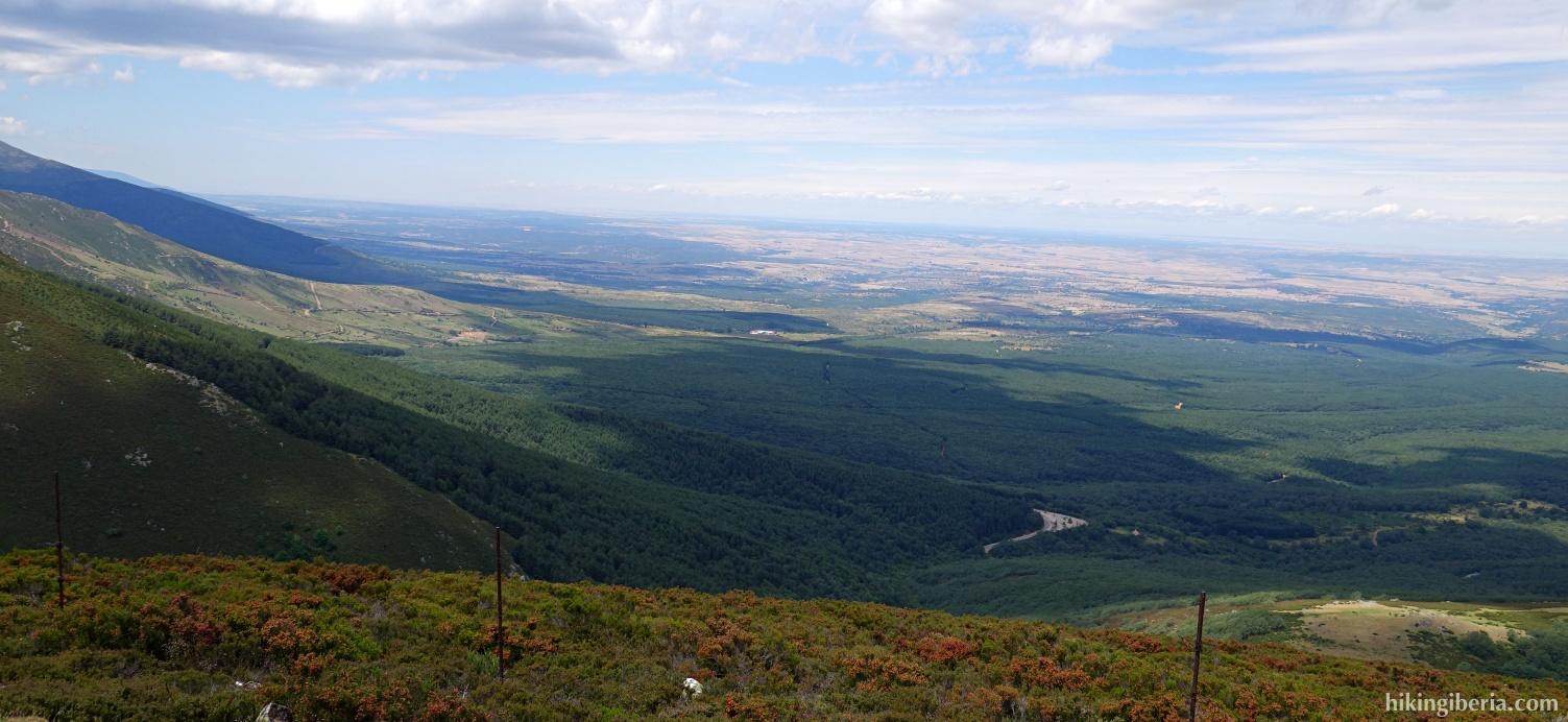 View from the Collado de San Benito