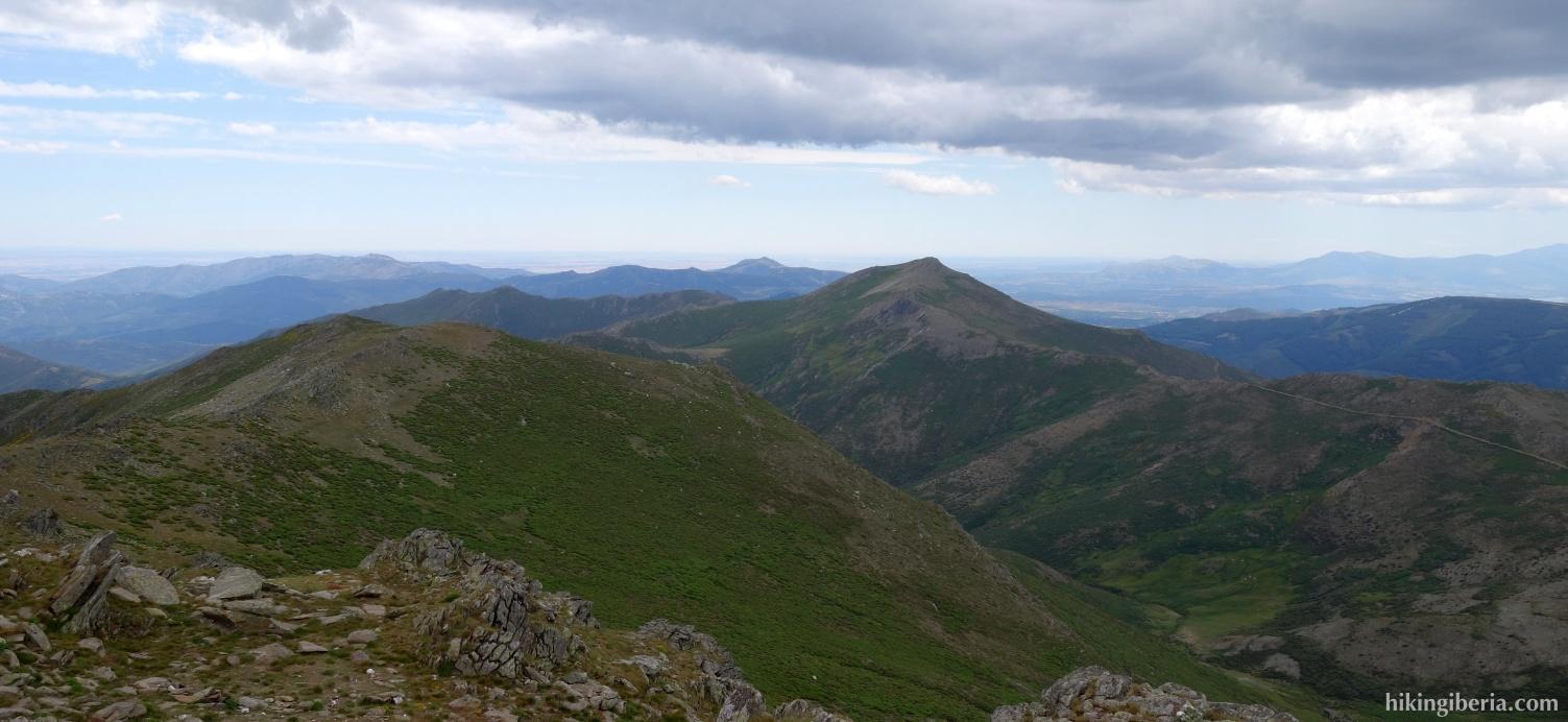 View from the Pico del Lobo