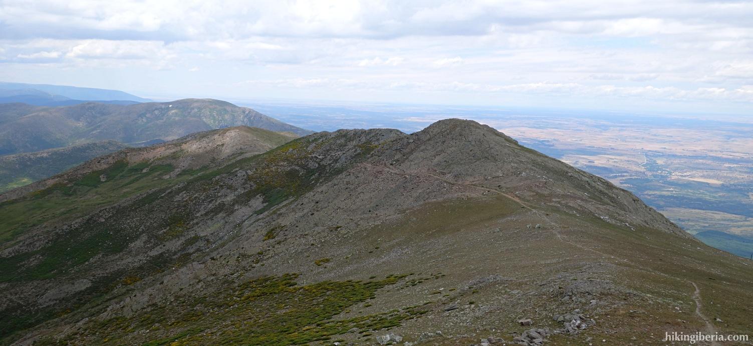 Uitzicht vanaf de Pico del Lobo