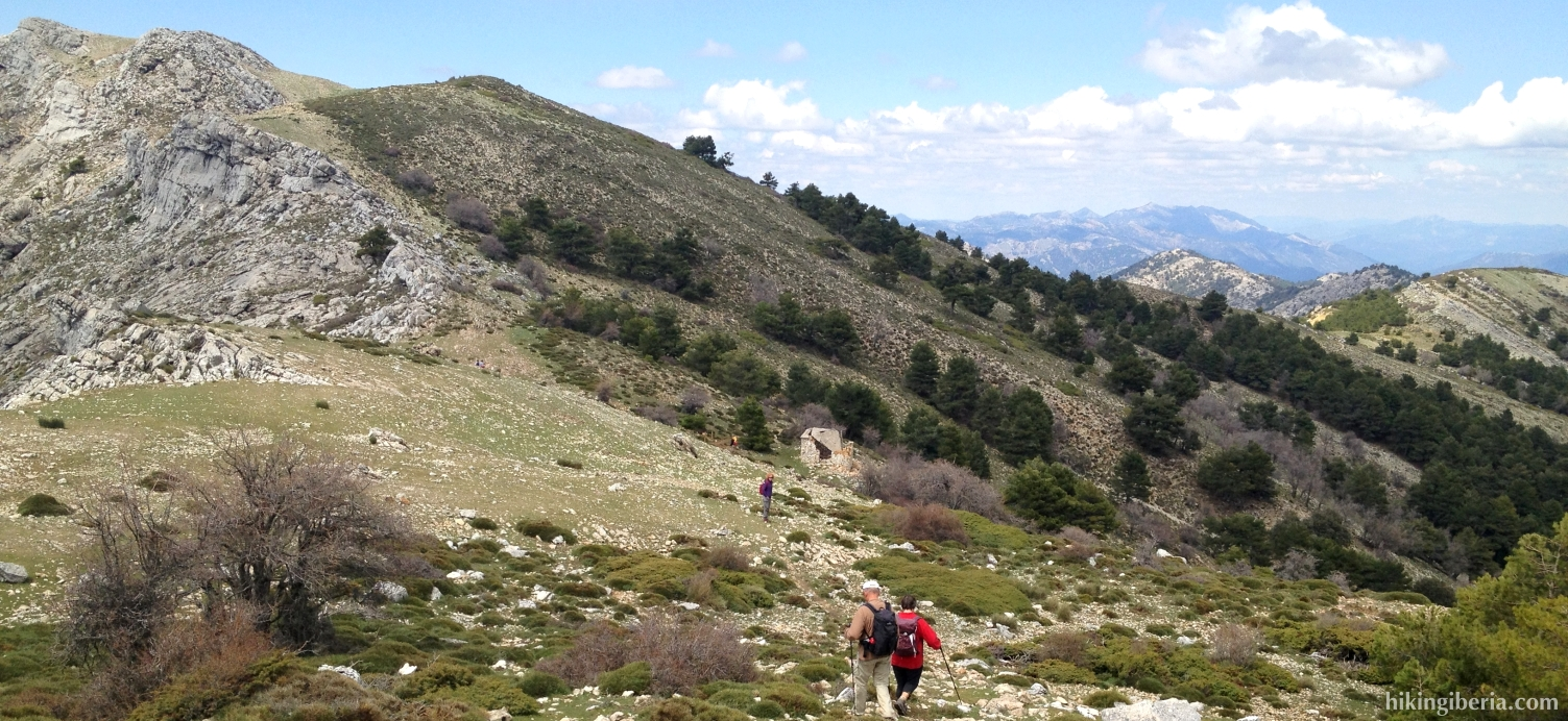 Descent from El Gilillo