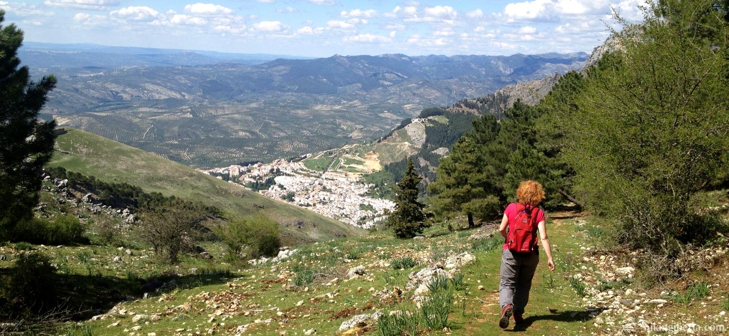 Uitzicht op Cazorla