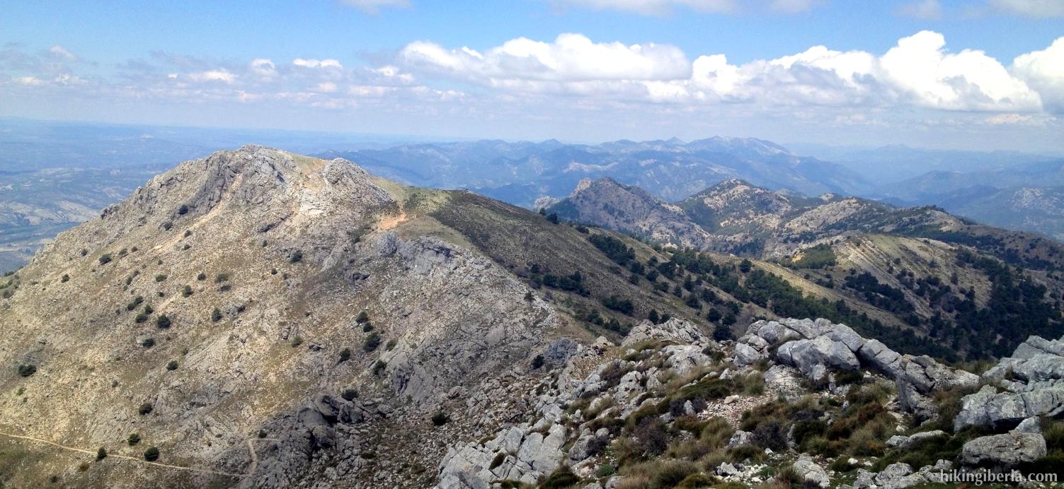 Uitzicht vanaf El Gilillo