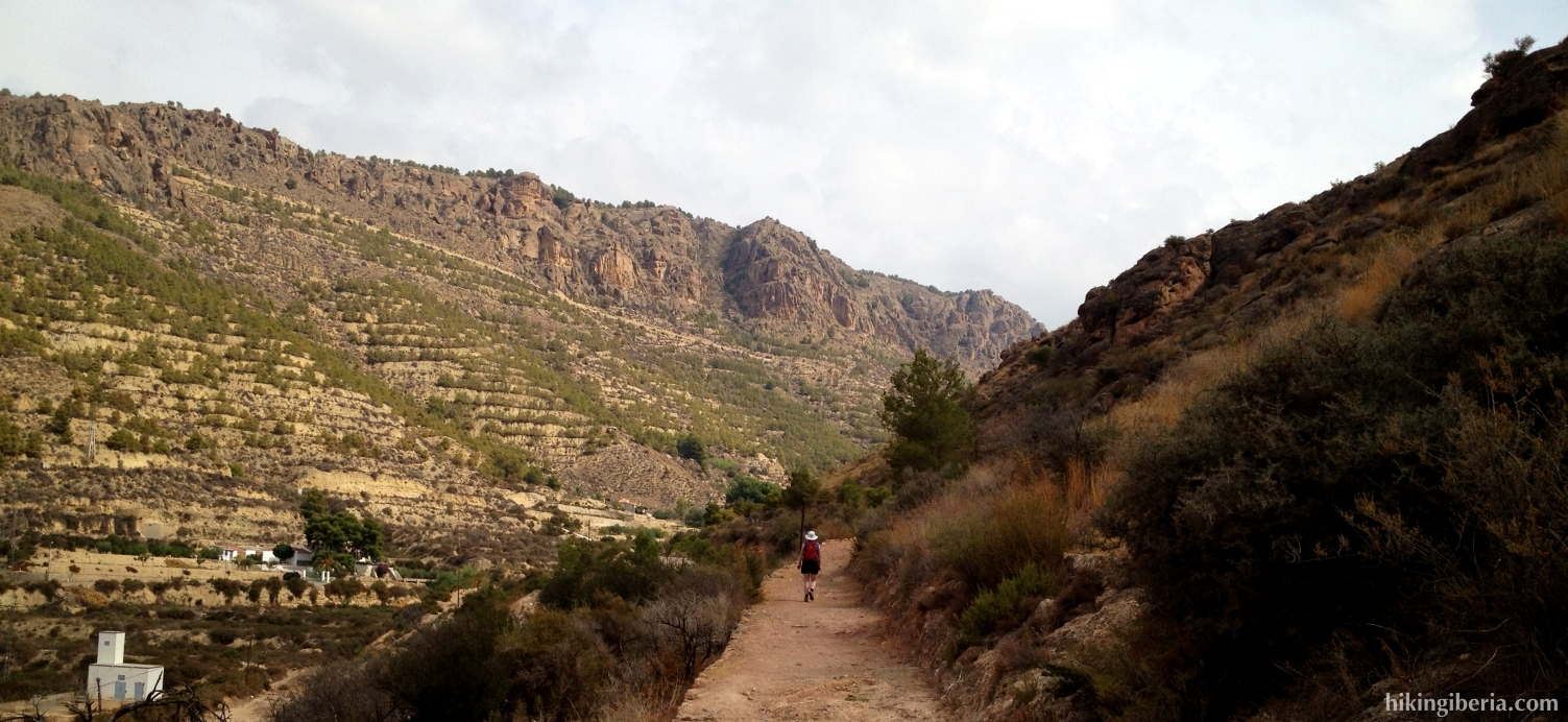 Path from the Castle of Alhama