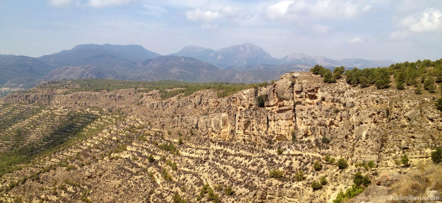 Vistas a la Sierra Espuña