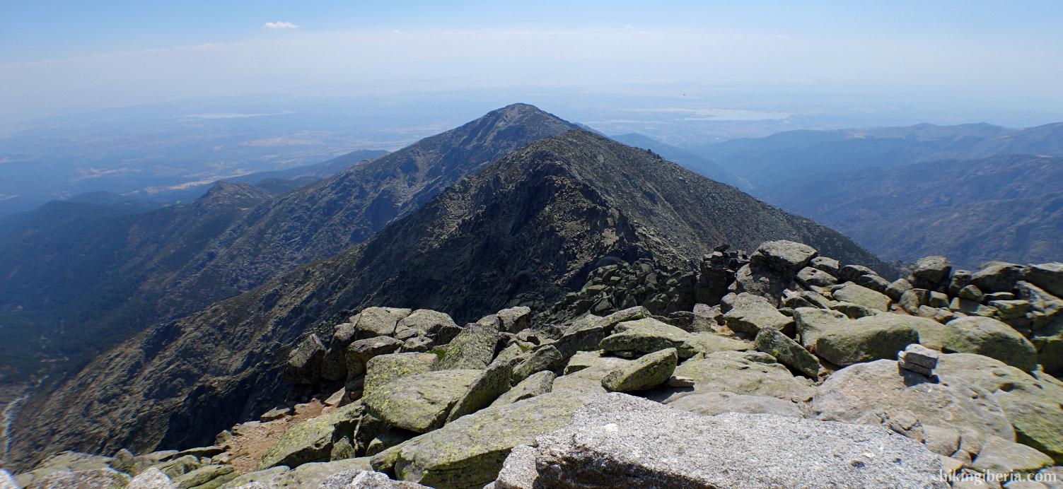 Uitzicht vanaf La Mira