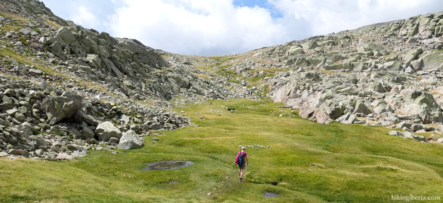 Aufstieg zu El Asomadero