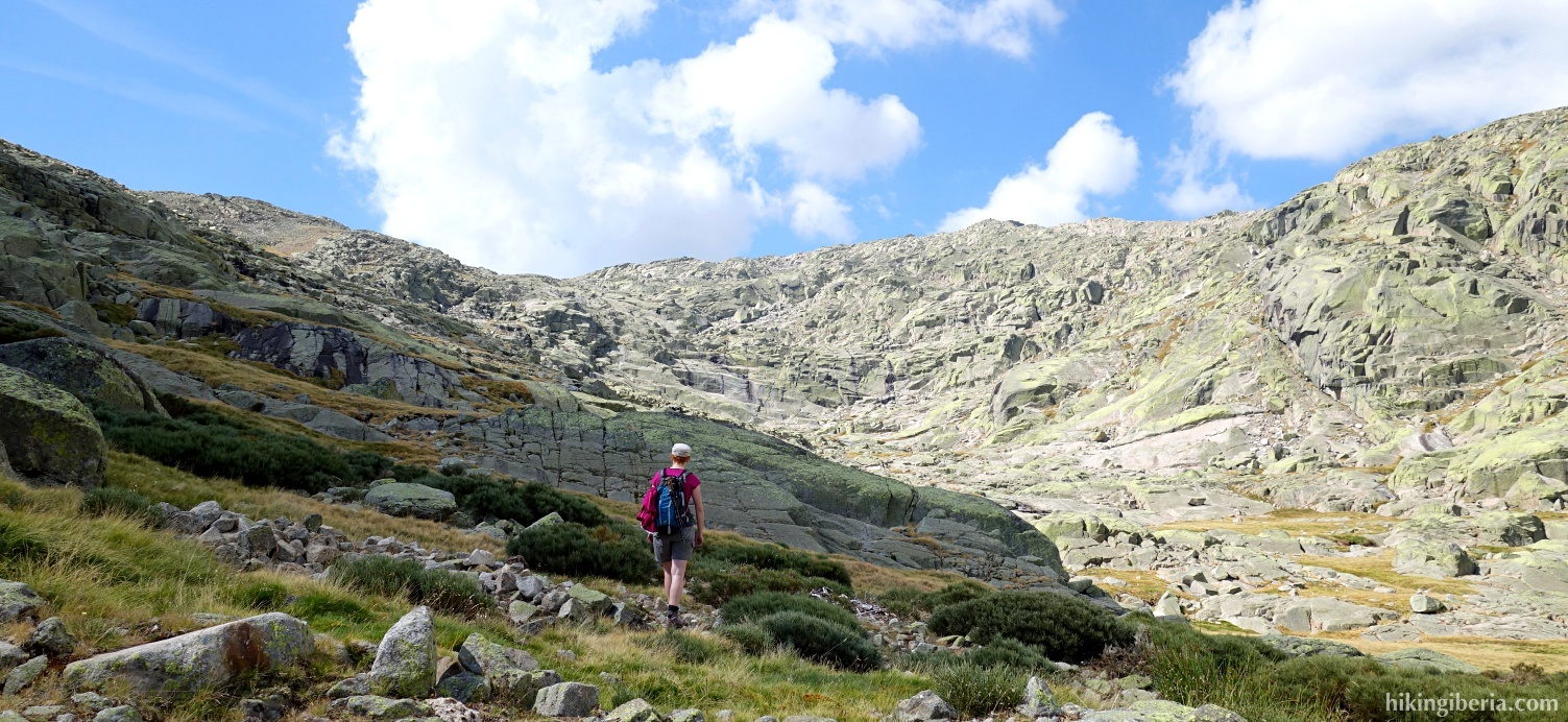 Ascent to the Cuerda del Refugio
