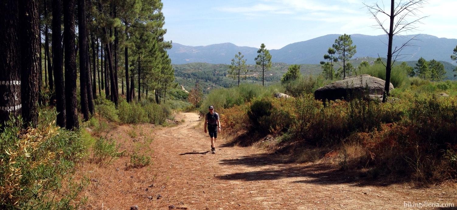 Pad naar Cruz de la Tendera