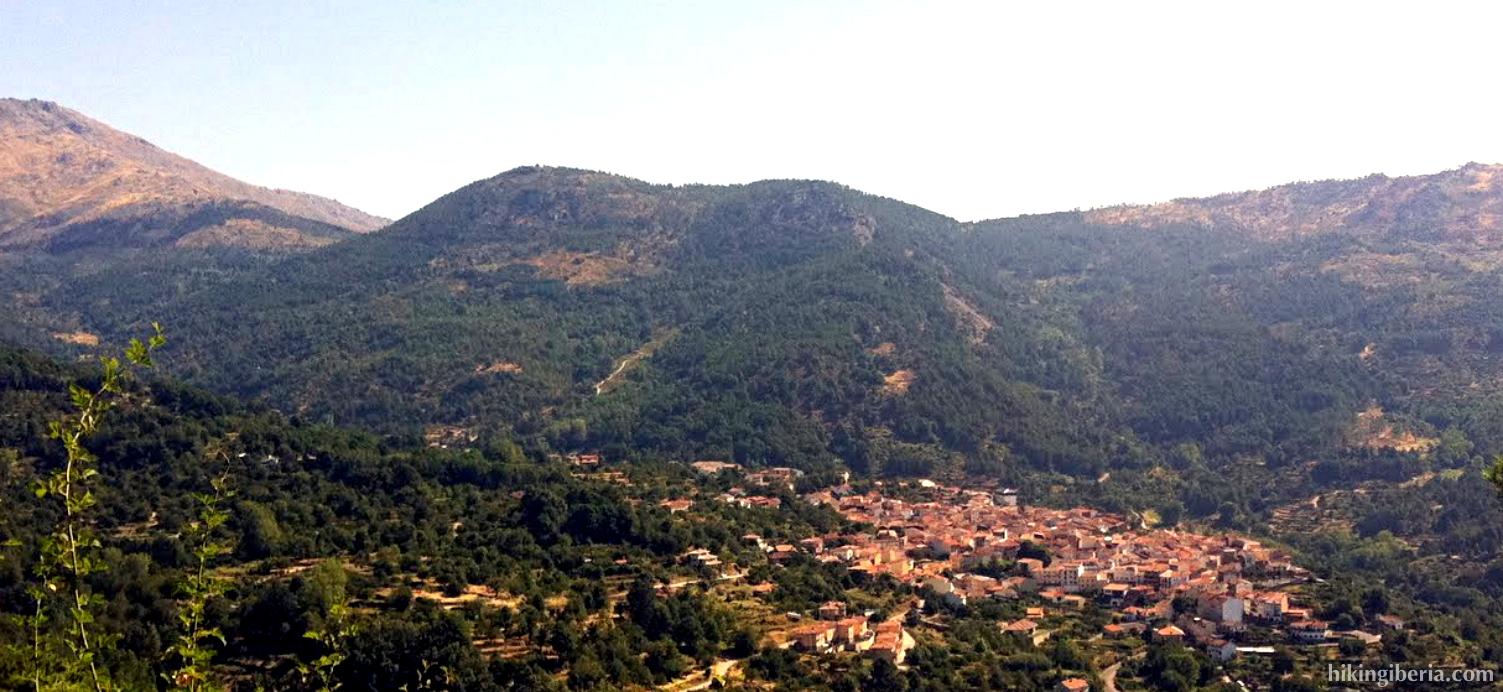 Uitzicht vanaf Cruz de la Tendera