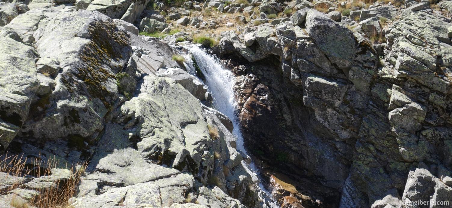 Waterval op de Garganta de la Nava