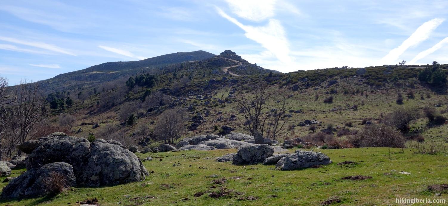Uitzicht op Cerro de la Encinilla