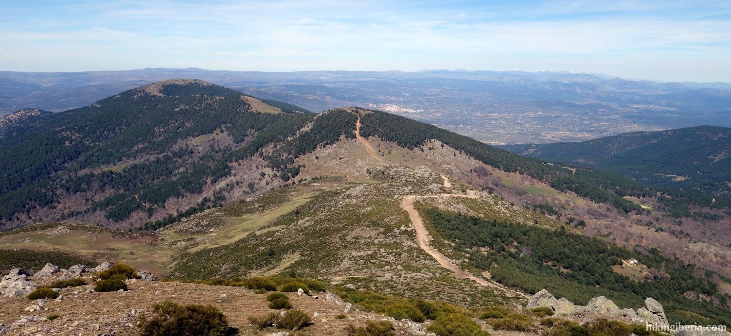 View from Pico Casillas