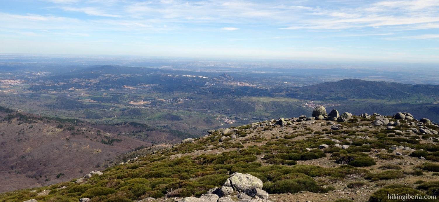 Uitzicht vanaf Pico Casillas