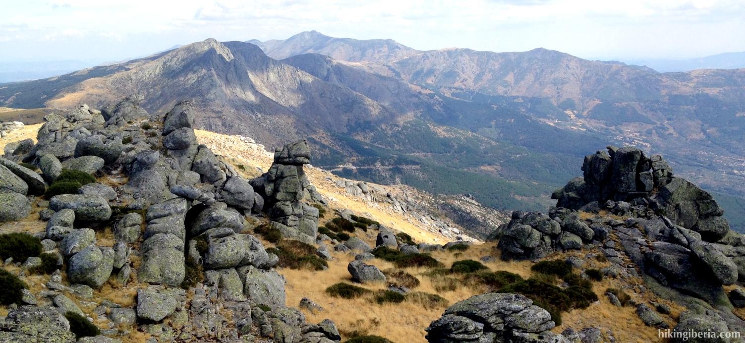 Uitzicht vanaf Pico la Fría